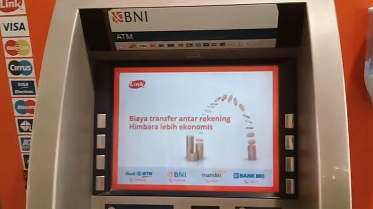 Daftar Internet Banking BNI di ATM