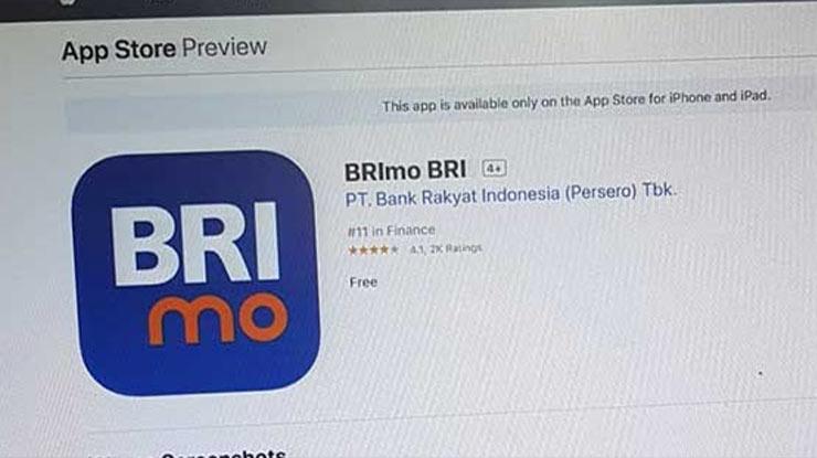 Download Aplikasi BRImo