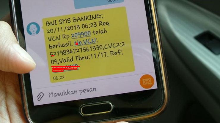 Biaya Kirim SMS