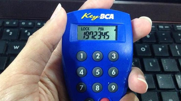Masukan KeyBCA untuk Top Up Shopee