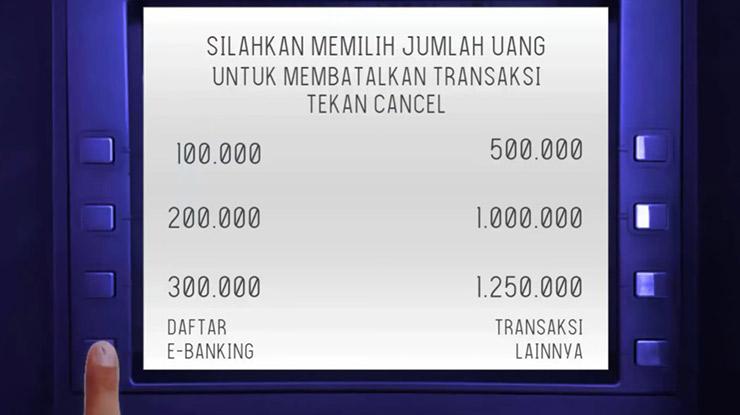 1. Pilih Daftar E-Banking