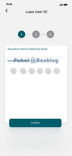 Masukan Nomor Rekening dan PIN ATM