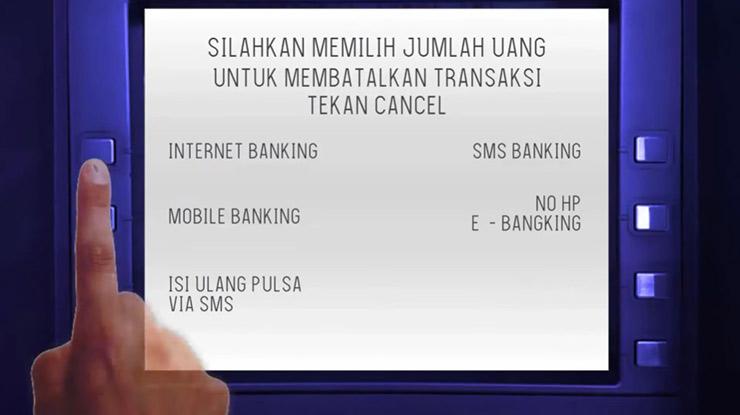 2. Pilih Internet Banking