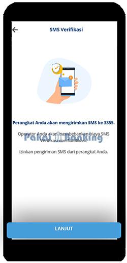 Melakukan Verifikasi SMS