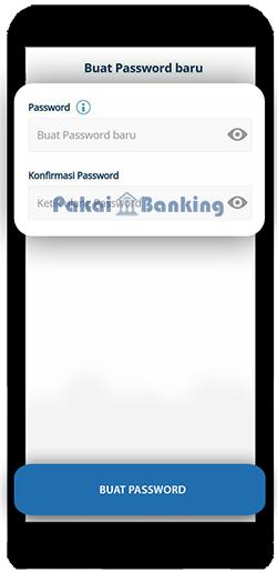 Membuat Password Mandiri Online Baru