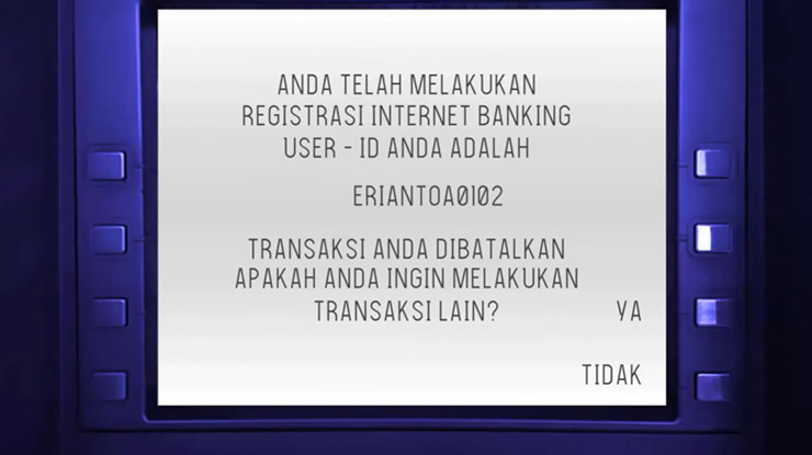 4. User ID KlikBCA