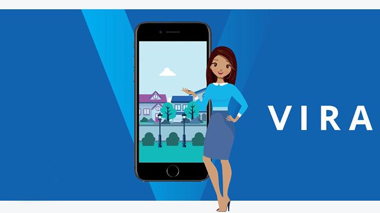 Aplikasi Chat Vira BCA