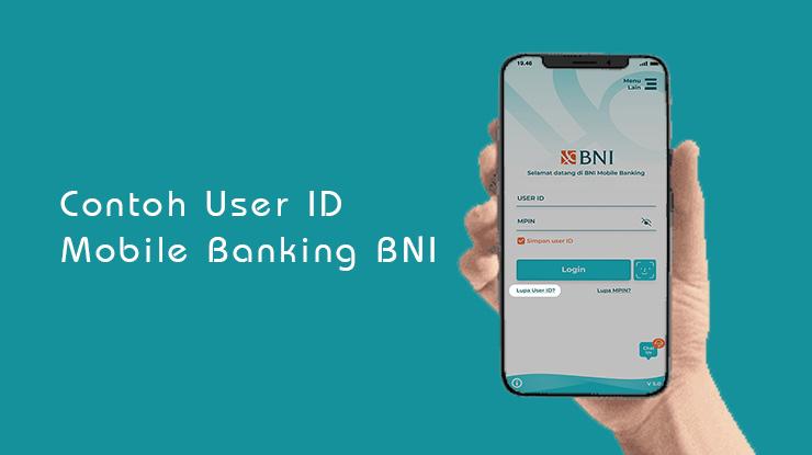 Contoh User ID Mobile Banking BNI