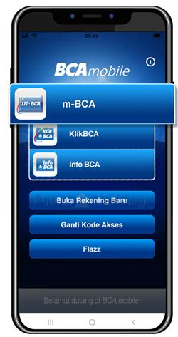 Buka Aplikasi m-BCA