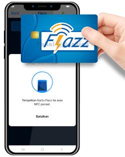 Tempel Kartu Flazz BCA pada Handphone