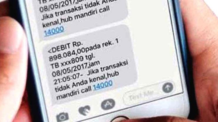 Syarat Cek Saldo Mandiri lewat SMS Tanpa Pulsa